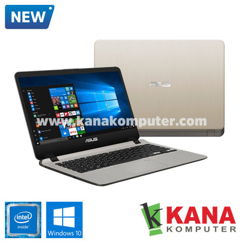 Asus Dual Core A407MA-BV002T (Gold) + Windows 10