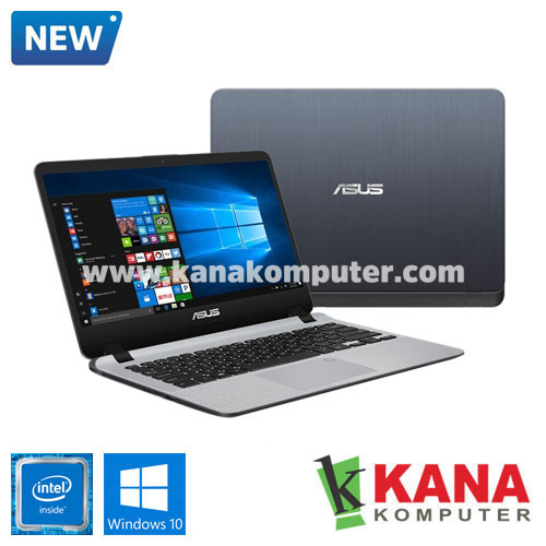 Asus Dual Core A407MA-BV401T (Grey) +SSD 128GB +Windows 10