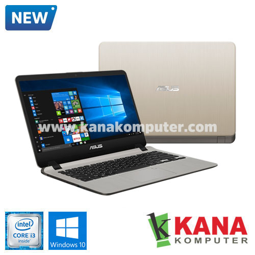 Asus Core i3 7020U A407UA-BV320T (Gold) + Windows 10