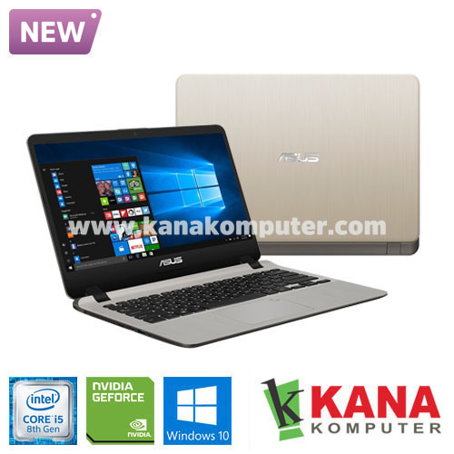 Asus Core i5 8250U A407UF-BV532T (Gold) + Windows 10