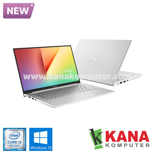 Asus Core i3 8145U Vivobook S S330FA-EY303T (Silver) +SSD 256GB +Windows 10