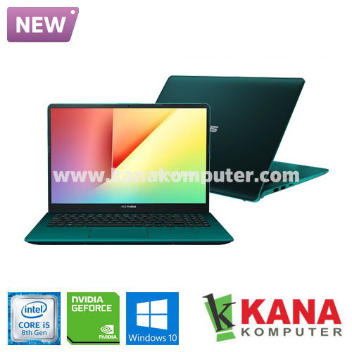 Asus Core i5 8265U Vivobook S S430FN-EB522T (Green) +SSD 256GB +Windows 10