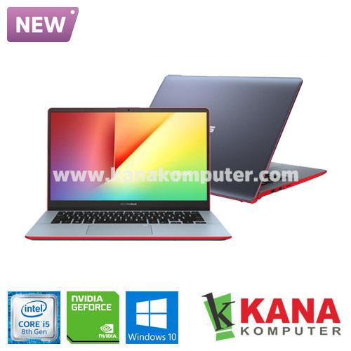 Asus Core i5 8265U Vivobook S S430FN-EB522T (Grey-Red) +SSD 256GB +Windows 10