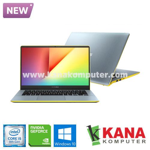 Asus Core i5 8265U Vivobook S S430FN-EB523T (Silver-Yellow) +SSD 256GB +Windows 10