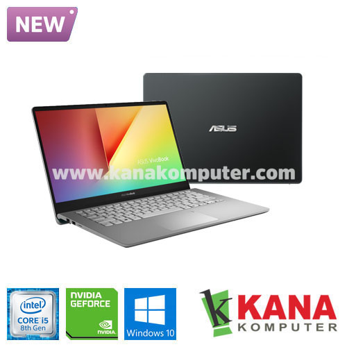 Asus Core i5 8265U Vivobook S S430FN-EB524T (Gun Metal) +SSD 256GB +Windows 10