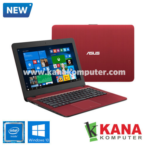 Asus Dual Core X441MA-GA013T (1TB) (Red) + Windows 10