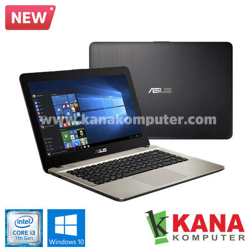 Asus Core i3 7020U X441UA-GA311T (Black) + Windows 10