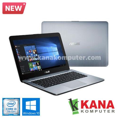Asus Core i3 7020U X441UA-GA312T (Silver) + Windows 10