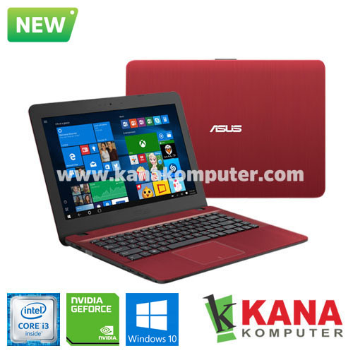 Asus Core i3 6006U X441UB-GA044T (Red) + Windows 10