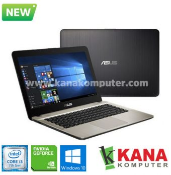 Asus Core i3 7020U X441UB-GA311T (Black) + Windows 10
