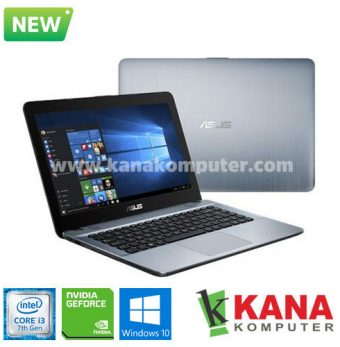 Asus Core i3 7020U X441UB-GA312T (Silver) + Windows 10