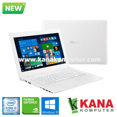 Asus Core i3 7020U X441UB-GA314T (White) + Windows 10