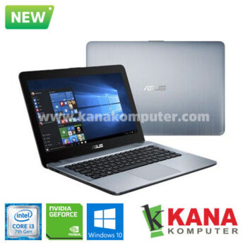 Asus Core i3 7020U X441UB-GA312T (Silver) + Windows 10