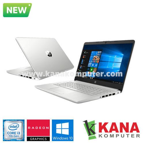 HP Core i3 7020U 14s-CF0070TX (Silver) + Windows 10 – KANA